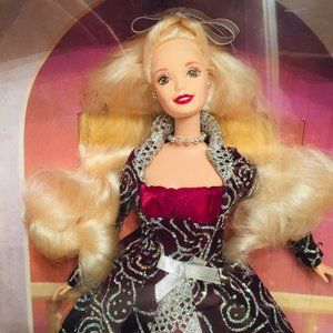NRFB - Winter Fantasy Barbie  - 1996